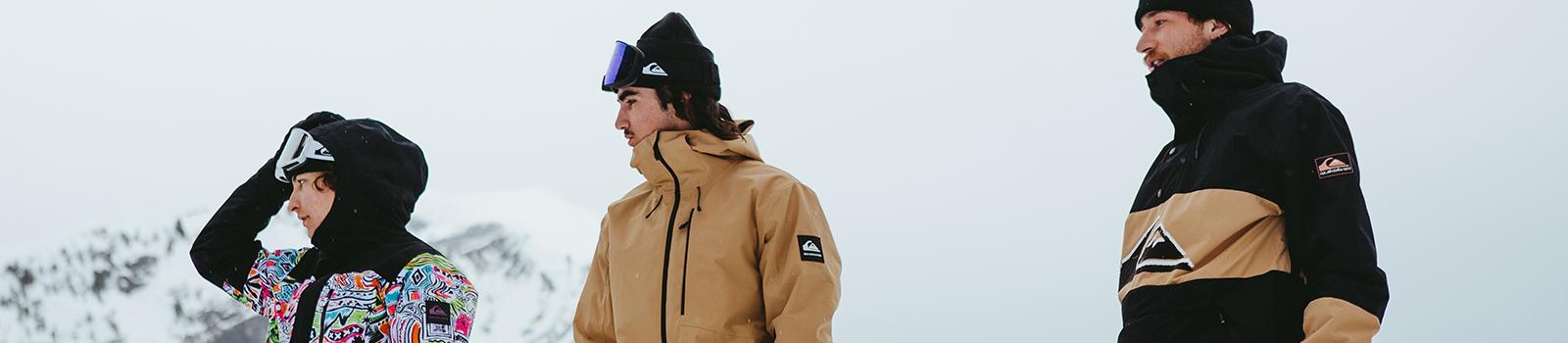 Quiksilver Mens Snow Shop - Snow Jackets